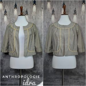 Anthropologie Idra Sunshine Day stripe jacket